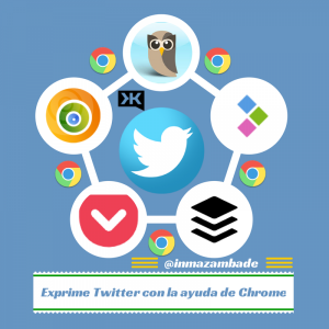 iconos de extensiones chrome para Twitter