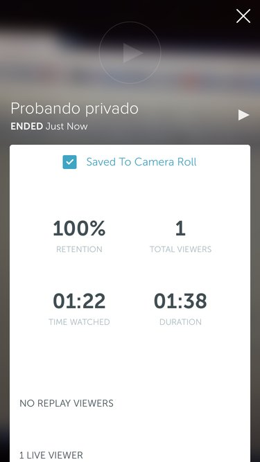 Video privado en Twitter Periscope